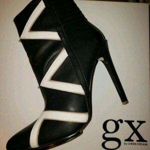 GX by Gwen Stefani black booties